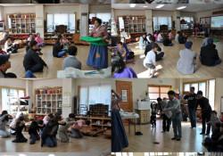 2019년 다문화가족 한국문화교실-한국 전통 및 밥상머리 예절교육 진행